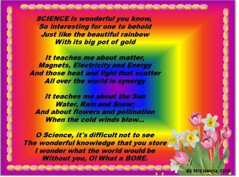 Science Poem