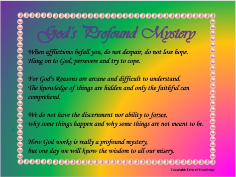 God's Mystery